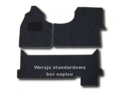 Dywaniki welurowe VW Crafter od 2006r. ECONOMIC 01