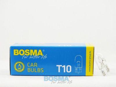 Żarówka Bosma 12V 5W T10 W5W - 1szt