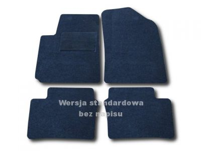 Dywaniki welurowe Kia Picanto od 2011r. LUX 9000