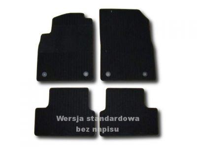 Dywaniki welurowe Opel Astra IV J 5-drzwiowe od 2009r. LUX 9000