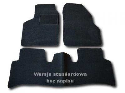 Dywaniki welurowe Renault Scenic II od 2003-2008r. ECONOMIC 01