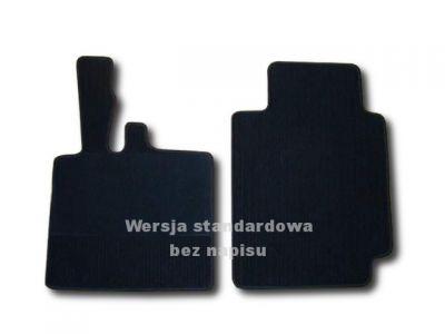 Dywaniki welurowe Smart Swatch Fortwo od 1998-2007r. LUX 9000