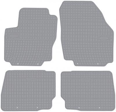 FROGUM popielate gumowe dywaniki samochodowe Ford Mondeo MK4 od 2007-2014r. GR0302