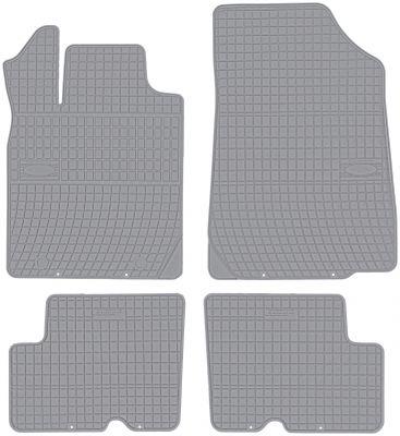 FROGUM popielate gumowe dywaniki samochodowe Dacia Duster od 2010-2013r. GR0331