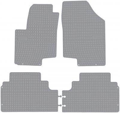 FROGUM popielate gumowe dywaniki samochodowe Hyundai ix20 od 2010-2018r. GR0420