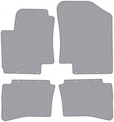 FROGUM popielate gumowe dywaniki samochodowe Hyundai i20 od 2008-2014r. GR0424