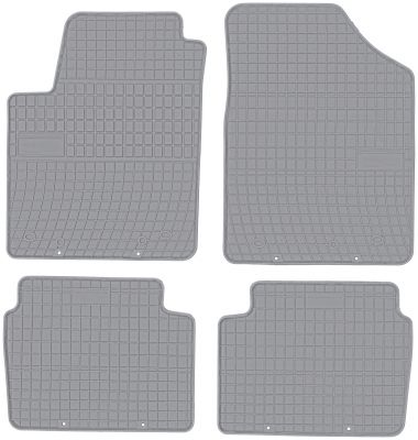 FROGUM popielate gumowe dywaniki samochodowe Hyundai i10 od 2007-2013r. GR0425