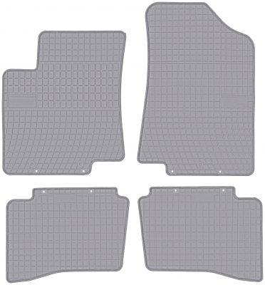 FROGUM popielate gumowe dywaniki samochodowe Kia Rio III od 2011-2017r. GR0427