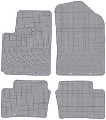 FROGUM popielate gumowe dywaniki samochodowe Kia Picanto II od 2011-2017r. GR0428