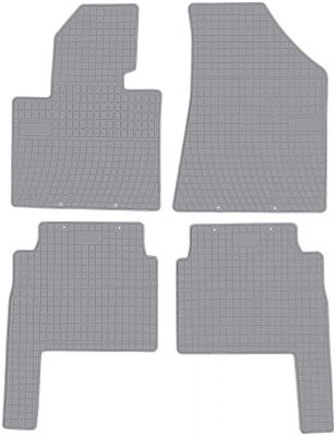 FROGUM popielate gumowe dywaniki samochodowe Kia Sorento II od 2009-2012r. GR0432