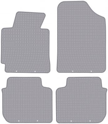 FROGUM popielate gumowe dywaniki samochodowe Hyundai Elantra V od 2010-2016r. GR0433