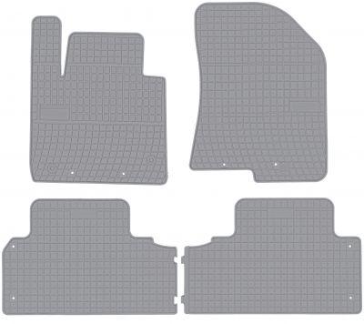 FROGUM popielate gumowe dywaniki samochodowe Kia Carens IV 5os od 2013r. GR0435