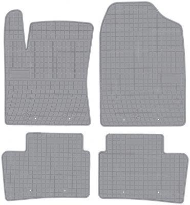 FROGUM popielate gumowe dywaniki samochodowe Hyundai i10 II od 2013r. GR0437