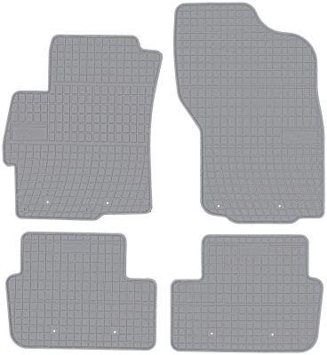 FROGUM popielate gumowe dywaniki samochodowe Mitsubishi Lancer od 2007-2016r. GR0481
