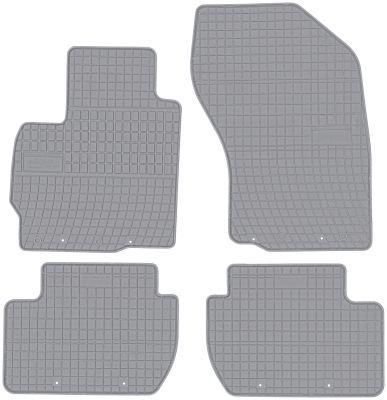 FROGUM popielate gumowe dywaniki samochodowe Mitsubishi Outlander II od 2006-2013r. GR0482