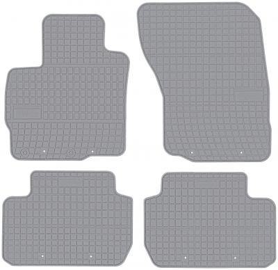 FROGUM popielate gumowe dywaniki samochodowe Mitsubishi Outlander III od 2013r. GR0485