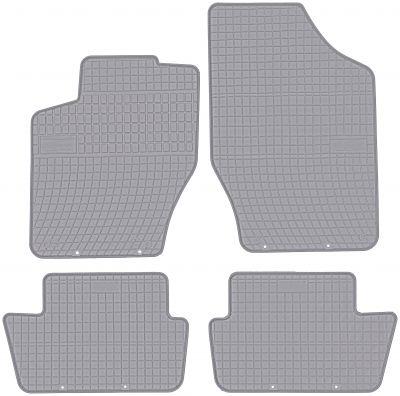 FROGUM popielate gumowe dywaniki samochodowe Citroen C4 II od 2011-2017r. GR0632C