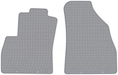 FROGUM popielate gumowe dywaniki samochodowe Fiat Fiorino 2os od 2007r. GR0637P