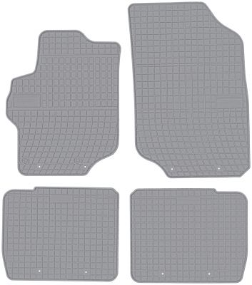 FROGUM popielate gumowe dywaniki samochodowe Citroen C-Elysse od 2007-2012r. GR0643