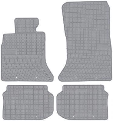 FROGUM popielate gumowe dywaniki samochodowe BMW 5 F10 F11 od 2010-2013r. GR0669