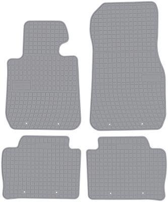 FROGUM popielate gumowe dywaniki samochodowe BMW s3 F30 F31 od 2011r. GR0670