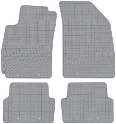 FROGUM popielate gumowe dywaniki samochodowe Chevrolet Aveo T300 od 2011r. GR0697