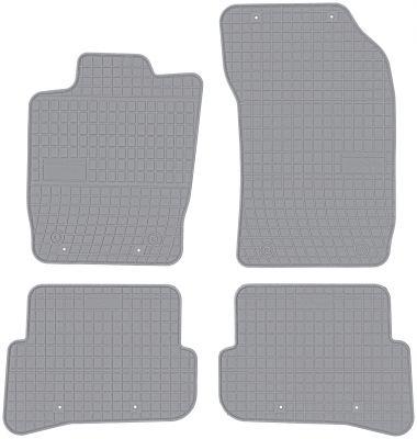 FROGUM popielate gumowe dywaniki samochodowe Audi A1 od 2010r. GR0734