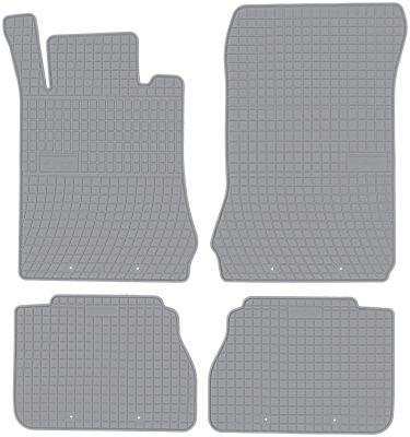 FROGUM popielate gumowe dywaniki samochodowe Mercedes E-Klasa W210 od 1995-2003r. GR0786