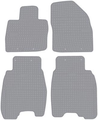 FROGUM popielate gumowe dywaniki samochodowe Honda Civic VIII Hatchback 3/5D od 2006-2011r. GR0830