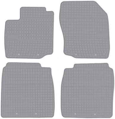 FROGUM popielate gumowe dywaniki samochodowe Honda Civic IX Hatchback 3/5D od 2012-2017r. GR0833