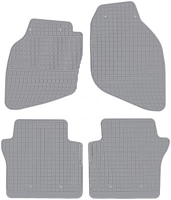 FROGUM popielate gumowe dywaniki samochodowe Honda City od 2002-2008r. GR0838