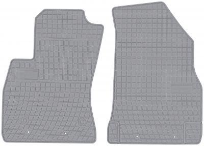 FROGUM popielate gumowe dywaniki samochodowe Fiat Doblo II 2os od 2010r. GR0910P