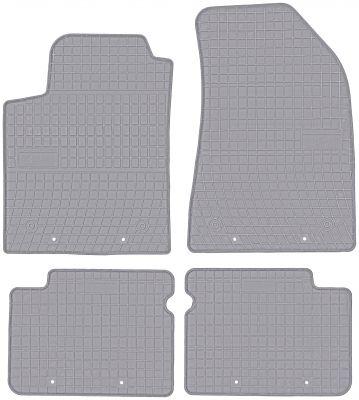 FROGUM popielate gumowe dywaniki samochodowe Fiat Bravo II od 2007-2014r. GR0913