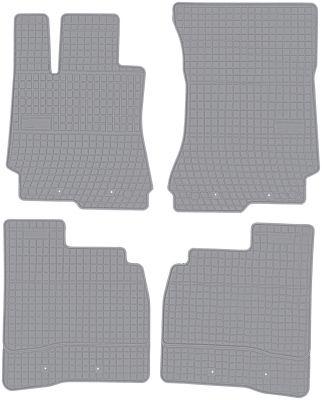 FROGUM popielate gumowe dywaniki samochodowe Mercedes S-Klasa W221 od 2005-2013r. GR542575