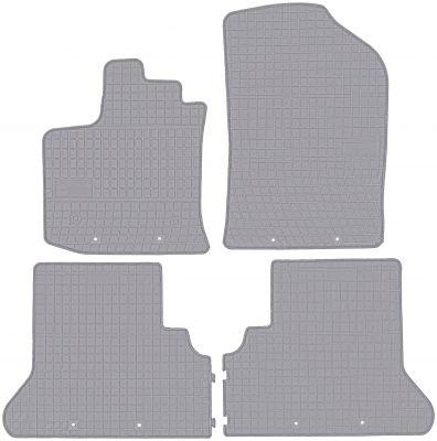 FROGUM popielate gumowe dywaniki samochodowe Dacia Lodgy od 2012r. GR542629