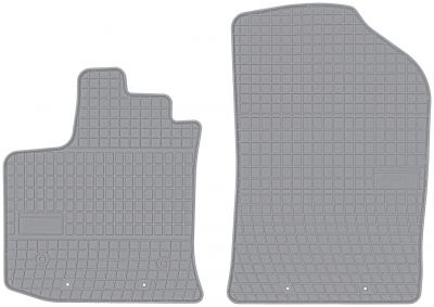 FROGUM popielate gumowe dywaniki samochodowe Dacia Dokker Van od 2012r. GR542667