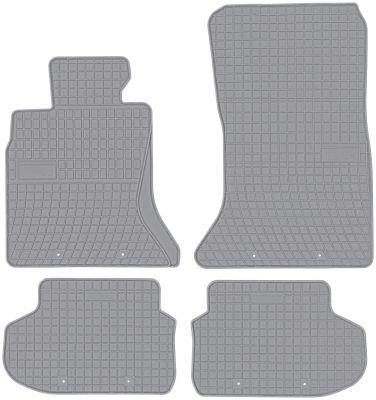 FROGUM popielate gumowe dywaniki samochodowe BMW 5 F10 F11 lift od 2013-2017r. GR542780