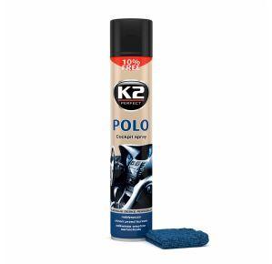 K2 POLO COCKPIT FAHREN 750 ML + MIKROWŁÓKNO Pielęgnuje deskę rozdzielczą K407FA0