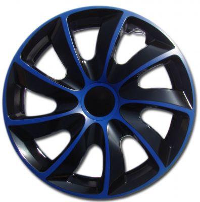 Kołpaki niebieskie QUAD (4-szt) rozmiar 15