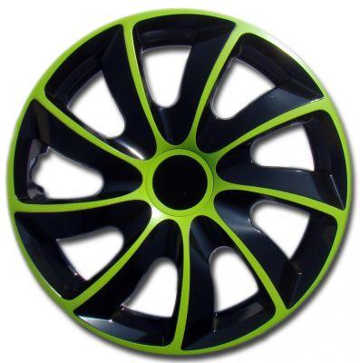 Kołpaki zielony QUAD (4-szt) rozmiar 14