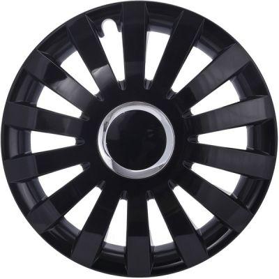Kołpaki Sail czarne (4-szt) rozmiar 15
